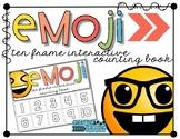 Emoji 10 Frame Counting Interactive Book