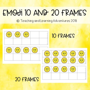 Emoji 10 and 20 frames