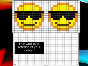 Emoji & 8-Bit Transformations Performance Task (Just print and go!)