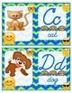 Emoji Abc cursive