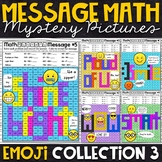 Emoji Addition Mystery Pictures | Message Math