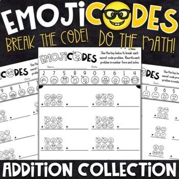 Emoji Fun Addition Practice