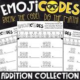 Addition Practice   Break the Emoji Code