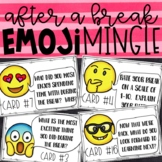 Emoji After Fall Break Activity