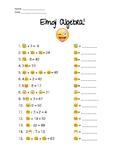 Emoji Algebra!
