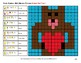 Emoji Algebra: Expressions with 2 variables - Valentine's Day Color By Number