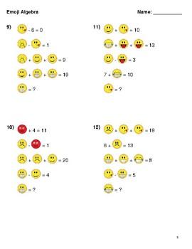 Emoji Logic Puzzles