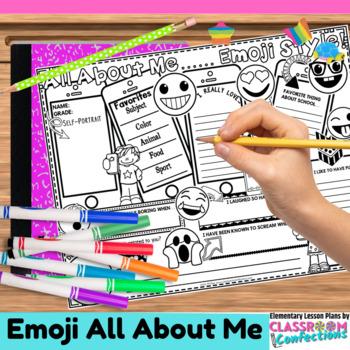 All About Me Emoji: Back to School Emoji