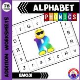 Emoji Alphabet Clip Cards