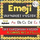 Emoji Alphabet Line Classroom Poster - Emoji Theme Decor