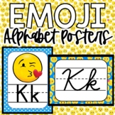 Emoji Alphabet Posters, Emoji Print Alphabet, Emoji Cursiv