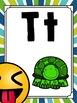 Emoji Classroom Decor: Editable Alphabet Posters