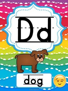 Emoji Alphabet posters