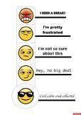 Emoji Anger Thermometer For Self-Regulation
