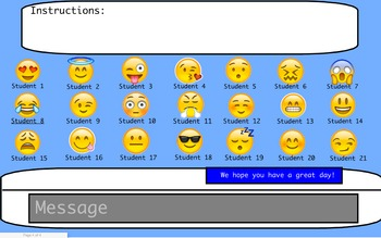 Emoji Attendance