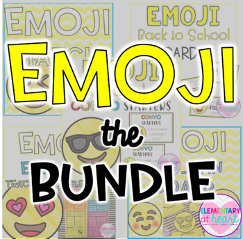 Emoji Back to School BUNDLE