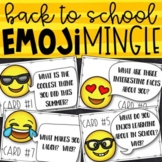 Emoji Back to School Get to Know You Activity   Back to Sc