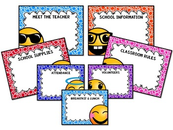 Emoji Back to School Presentation Template
