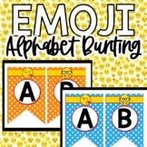Emoji Banner, Emoji Bunting, Emoji Bulletin Board Display