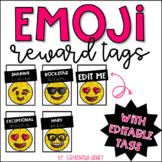 Emoji Behavior Brag Tags (EDITABLE)