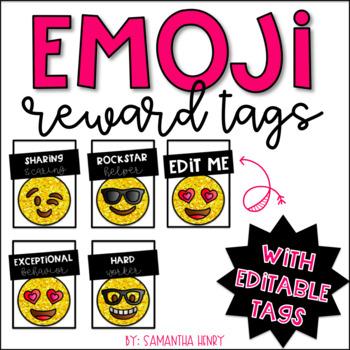 Emoji Behavior Brag Tags (EDITABLE)