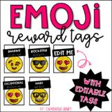 Emoji Reward Tags (EDITABLE)