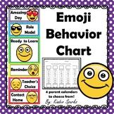 Emoji Behavior Chart With Parent Calendars