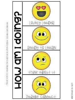 Emoji Behavior Charts {Behavior Interventions}