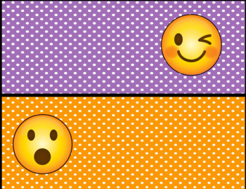 Emoji Behavior Clip Chart-Polka Dot