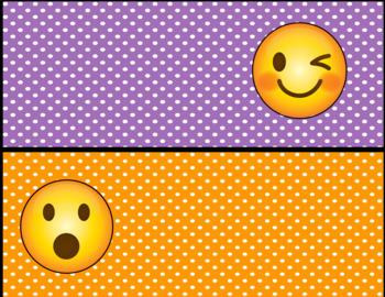 Emoji Behavior Clip Chart-Polka Dot