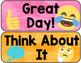 Emoji Behavior Clip Chart Classroom Management