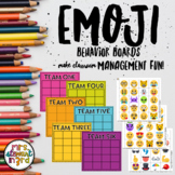 Emoji Behavior Management Boards