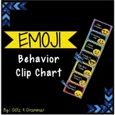 Emoji Behavior Management Clip Chart