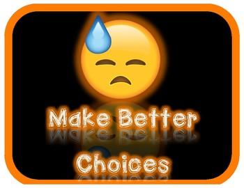 **PREVIEW** Emoji Behavior Management Clip Chart System