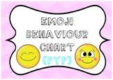 Emoji Behaviour Chart PYP version