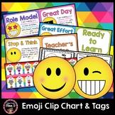 Emoji Behaviour Chart and Tags
