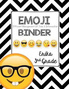 Emoji Binder Cover