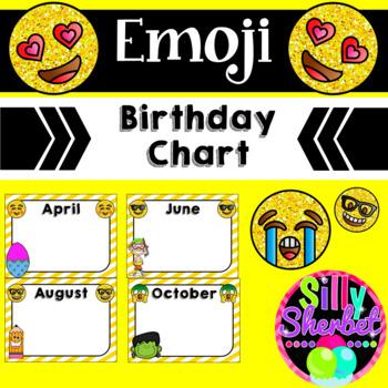 Emoji Birthday Chart