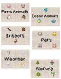 Emoji Book Labels