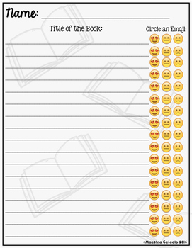 Emoji Book Log