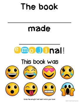 Emoji Book Responses {Interactive Bulletin Board}