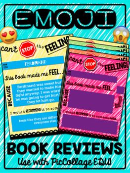 Emoji Book Review for iPads