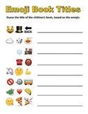 Emoji Book Titles