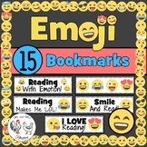 Emoji Bookmarks | March is Reading Month Bookmarks