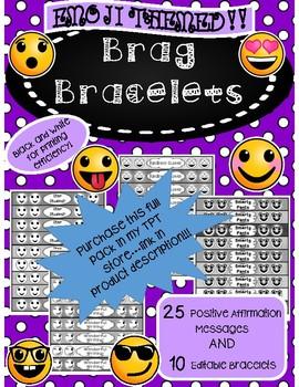 Emoji Brag Bracelet FREEBIE!