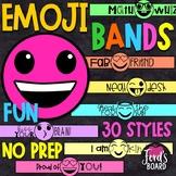 Emoji Brag Bracelets