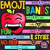 Emoji Brag Bracelets - Back to School