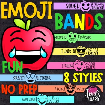 Emoji Brag Bracelets | Back to School