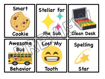 Emoji Brag Swag Tags Classroom Management (OVER 150+ BRAG TAGS)