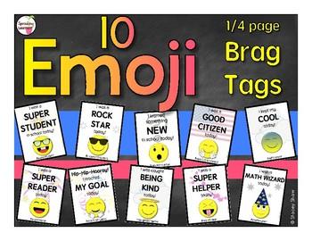 Emoji Brag Tags - Awards